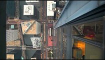 Chicago aerial view of streets