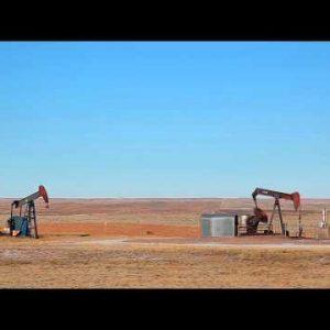Oil rigs in Nebraska.
