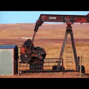 Up Close Oil Rig in Nebraska