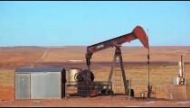 Oil Rig in Oil Field in Nebraska.