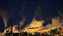 Smoke Stacks and Factory