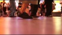 Low Shot of Dancing People