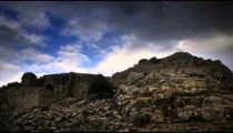 Time-lapse of the castle ruins at Nimrod.