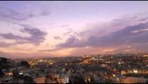 Sunset time-lapse of Jerusalem from the BYU Jerusalem center.