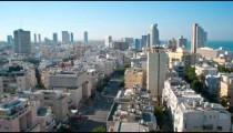 Tel Aviv time-lapse of the city at sunrise.