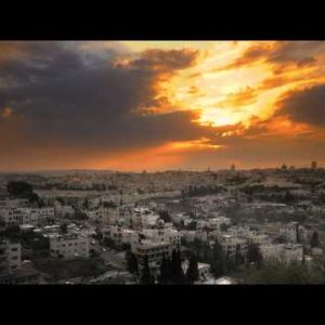 Sunset time-lapse from the BYU Jerusalem center.
