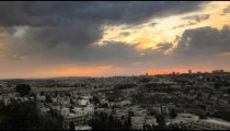 Sunset time-lapse from the BYU Jerusalem center.