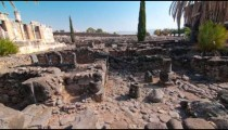 Time-lapse of the old synagogue in Capernuam, Israel. VERY UNSTABLE.