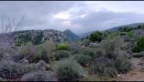 Dusk time-lapse of the hills near Nimrod, Israel