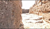 Sunny time-lapse at Korazim ruins.
