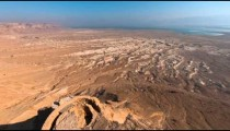 Time-lapse from the top of Masada overlooking the valley and the Dead Sea.