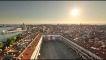 Saint Mark Square time-lapse from the tower.
