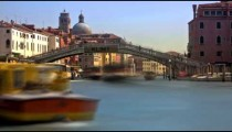 Time-lapse of the Scalzi bridge in Venice.