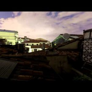 Venetian rooftop time-lapse.