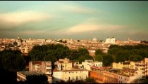 Time-lapse of the Roman skyline.