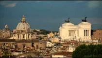 Time-Lapse of the Vittoriano and Saint Andrea della Valle.