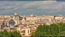 Time-lapse of the Roman cityscape.