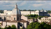 Times-lapse of the Palace of Justice and San Giovanni dei Fiorentini.