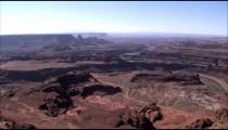Desert canyon landscape.