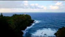 Time-lapse of the Kilauea Lighthouse on Kauai, Hawaii
