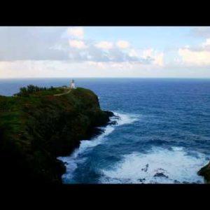 Time-lapse of the Kilauea Lighthouse on Kauai, Hawaii