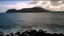 Time-lapse of the Nini Lookout on Kauai, Hawaii.