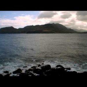 Time-lapse of the Nini Lookout on Kauai, Hawaii.