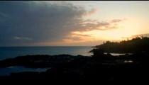 Time-lapse of the ocean at Po'ipu Beach on Kauai, Hawaii.
