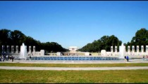 Time-lapse of the World War II Memorial in Washington, D.C.