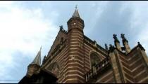 Time-lapse of a church in Brugge, Belgium.