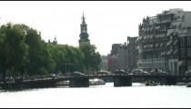 Time-lapse of a bridge in Amsterdam.