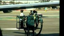 Airplane maintenance workers.