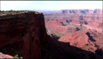Pan of Dead Horse Point near Moab, Utah.
