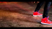 Royalty Free Stock Footage of Close up of two people's dancing feet.