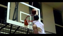 Royalty Free Stock Footage of Slow motion shot of a slam dunk.