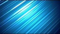 Visualization of light reflecting in the middle of a blue background.