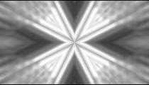 Black, white, and grey kaleidoscopic effect.