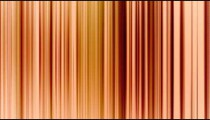 Vertical lines of aqua color shifting around and shaking slowly.