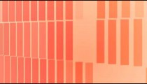 Visualization of vertical rectangles oscillating between blue and white.