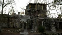 Strange house at Thunder Mountain Park in Nevada.