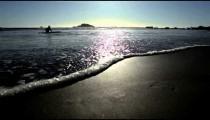 Grey ocean waves