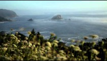 Mountain coast