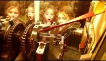 Children Watching Souvenir Penny Machine