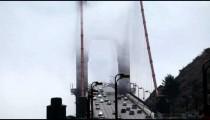 Golden Gate Bridge in Dense Fog