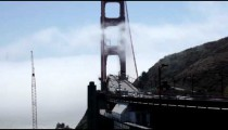 Golden Gate Bridge with Cloud