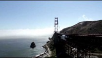 Golden Gate Bridge Panning