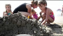 Playing Behind the Sand Castle