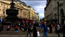 Crowded Piccadilly Circus on October 7, 2011 in London.