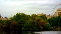 Panning view from Saint James Park