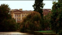 Buckingham Palace from Saint James Park